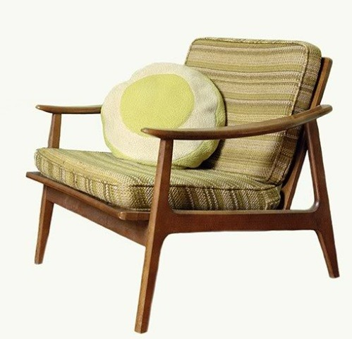 50s retro chair furniture home interiors for Vintage style living room furniture