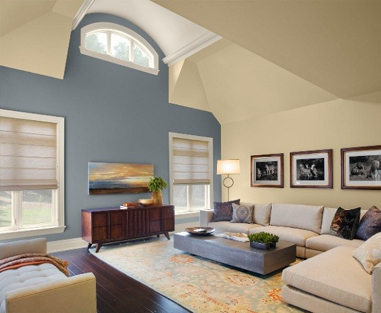 Living Room Color Trend In 2012 Home Interiors