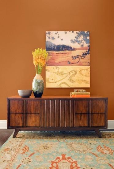 Paint Color Schemes Living Room5