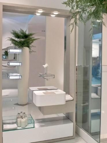 decorative bathroom mirror with lights