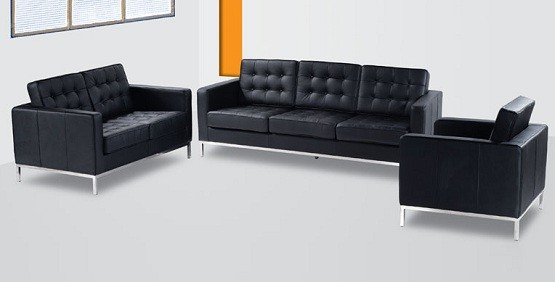 Black Leather Living Room Furniture Sets 555 x 282