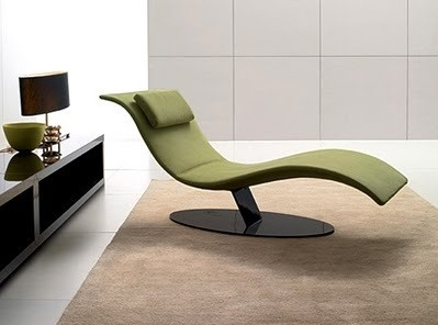 Relaxing on the minimalist lounge chairs for living room for Sillas descanso modernas
