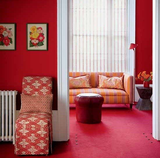 Red Living Room Ideas for Your Sexy Guest Room | Home Interiors