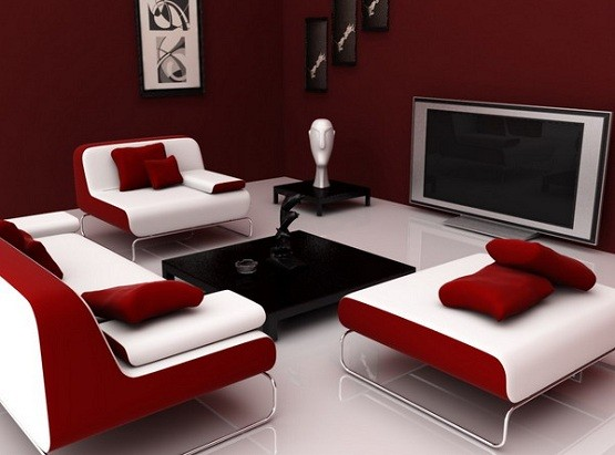 Red Living Room Ideas For Your Sexy Guest Room » Red Living Room Ideas U2013  Maroon