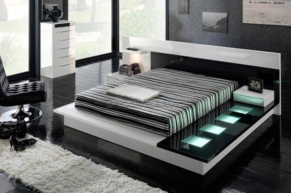 Deep. Creative Ideas on Black And White Bedroom Designs   Home Interiors