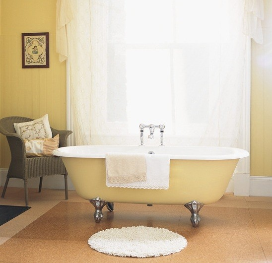 Cork bathroom flooring for fresh bathroom ideas home for Bathroom designs cork