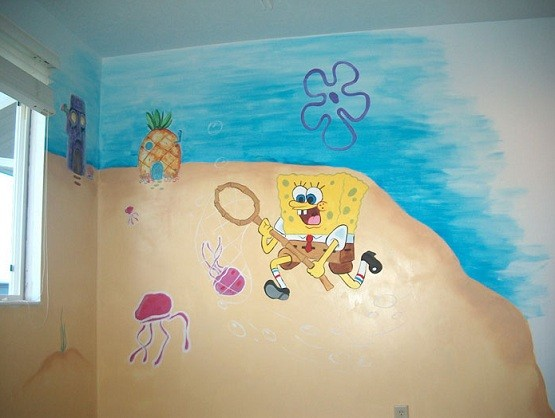 Attractive There Are Many SpongeBob Bathroom Decor Which ...