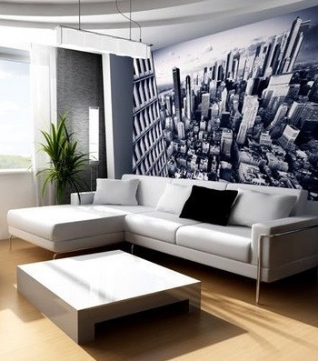 Bedroom Wallpaper Ideas on Ideas For Living Room    Wallpaper Wall Decor Ideas For Living Room