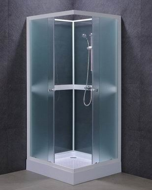 Free Standing Shower Stall For Compliment Your Bathroom Home Interiors