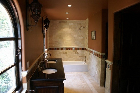 Jack and jill bathroom designs as house space saving for Jack and jill bathroom with hall access