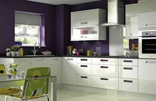 Cozy in L Shaped Kitchen Designs | Home Interiors