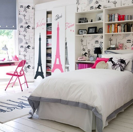 Little Girls Bedroom Decorating Ideas Should Reflect Personality »  Historical Buildings Theme
