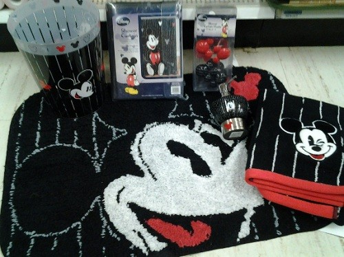 Mickey mouse bathroom set