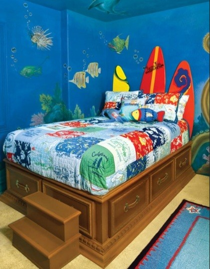 Miraculous Ocean Theme Bedroom The Sea Theme Bedrooms Ocean Theme Bedrooms Largest Home Design Picture Inspirations Pitcheantrous