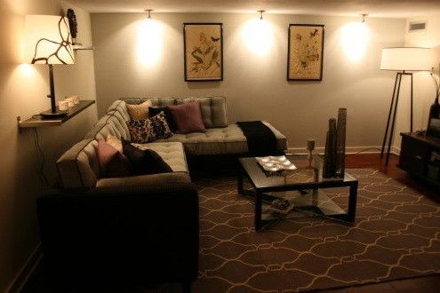 Track lighting ideas for living room to make your living room ...