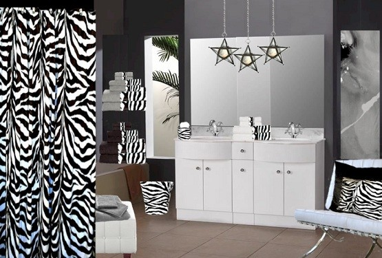 Zebra Print Bathroom Decor U2013 Bring Up The Nature Sensation In The Bathroom  » Zebra Print Bathroom Decor And Accessories