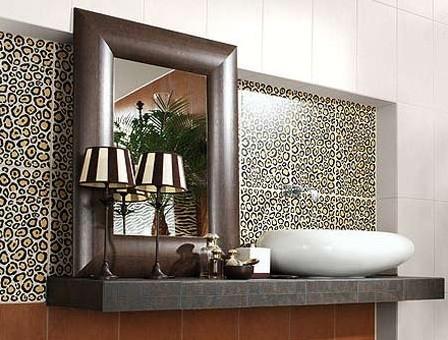 Cheetah bathroom set beautiful animal print for bathroom for Cheetah bathroom ideas