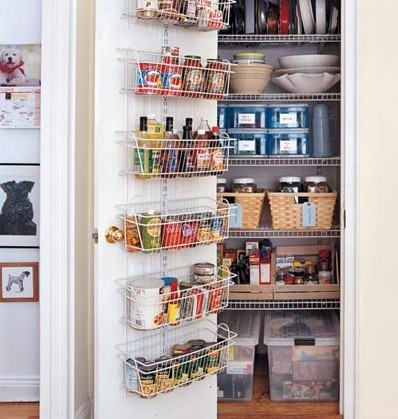 Kitchen Pantry Design Ideas for Neat and Cool  kitchen pantry design ideas simple creative Home Interiors