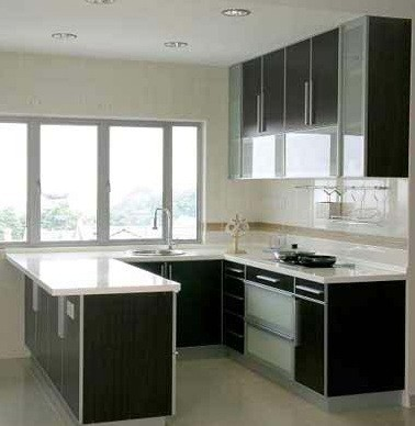 small U shaped kitchen design – Modern design