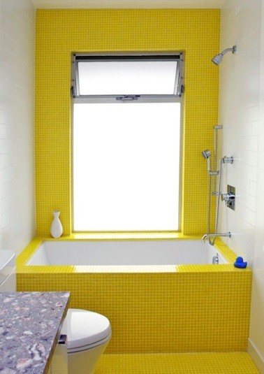 yellow rubber ducky bathroom decor