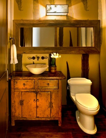Basement ideas on pinterest workout rooms playhouses for Antique bathroom designs