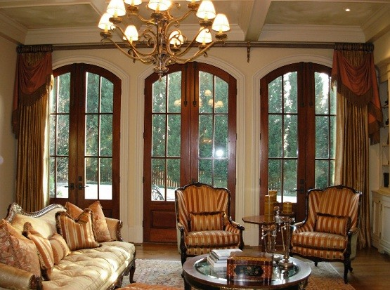 Window Treatment Ideas For Living Room With Elegant Scheme