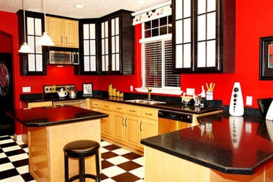 Superior Contemporary Kitchen Design With Smart Concept » Contemporary Kitchen Design  In Some Color Combination