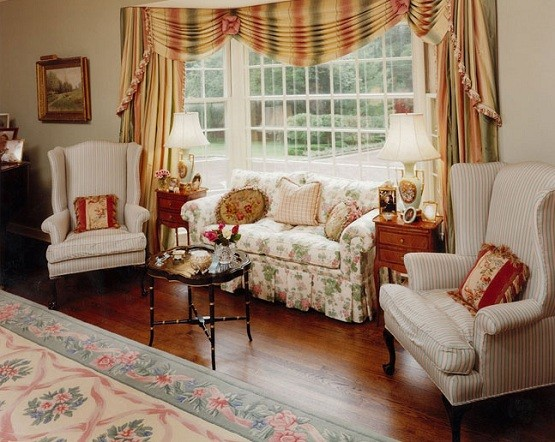 Country style living room furniture decorating ideas home interiors English home decor pinterest