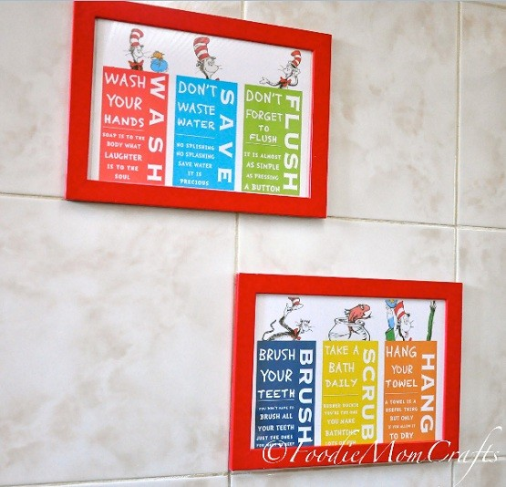 Charmant Dr. Seuss Bathroom Decor For Kidu0027s Room Inspiration » Dr. Seuss Bathroom  Decor Set