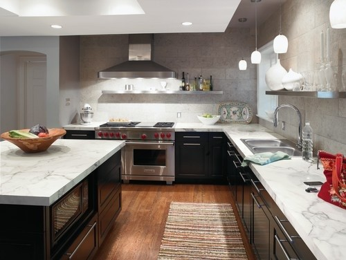 Laminate countertop colors ideas home interiors Kitchen countertop choices