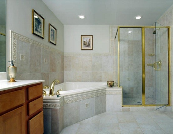 Modern basement bathroom designs with shower and bathtub home interiors Design small basement bathroom