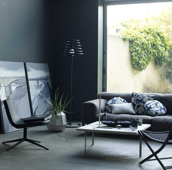 Simple Living Room: Black And Grey Living Room Ideas For Gorgeous Decor