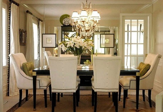 Chandeliers For Dining Rooms The Basic Things When Choosing On Black And White Furniture
