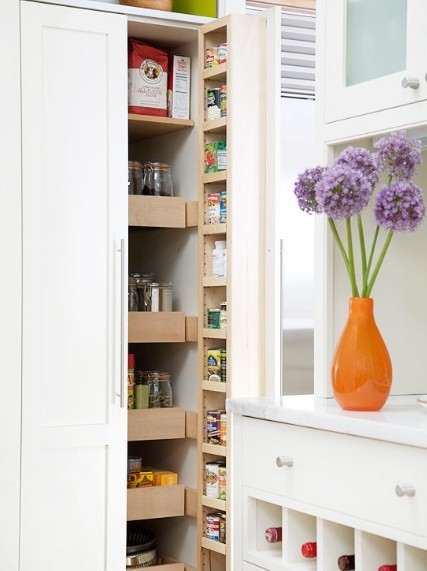 Pantry Shelving Units for Smart Home Storage