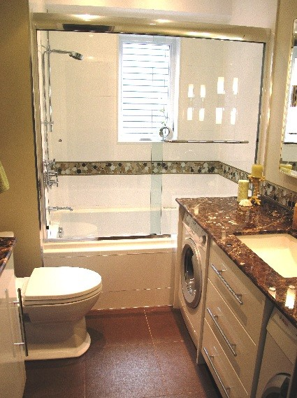 Small Basement Bathroom Designs With Laundry Area Home Interiors - Bathroom laundry room design ideas