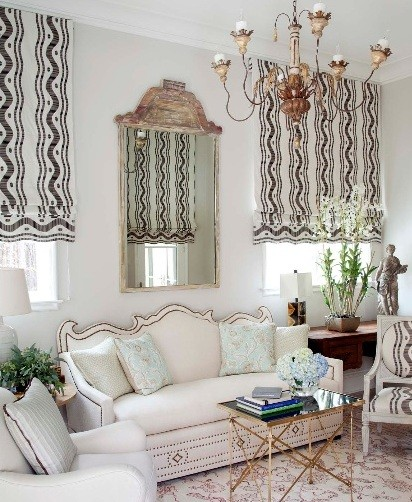 Window Treatment Ideas for Living Room with Elegant Scheme ...