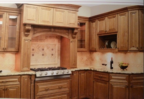 Elegant and luxurious premade kitchen cabinets home for Premade cabinets