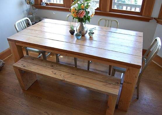Rustic Modern Dining Room Table And Chairs Home Interiors
