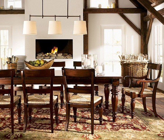 Rustic Dining Room Tables And Chairs Collection Simple Design Of