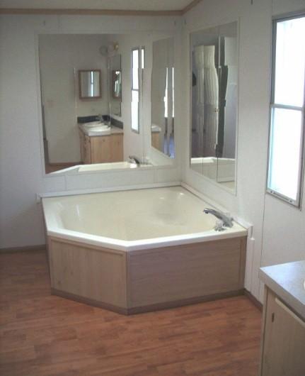 laminate flooring bathroom home interiors. Black Bedroom Furniture Sets. Home Design Ideas