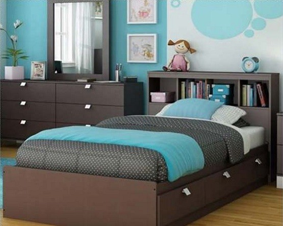 blue and brown bedroom ideas for Teenage | Home Interiors