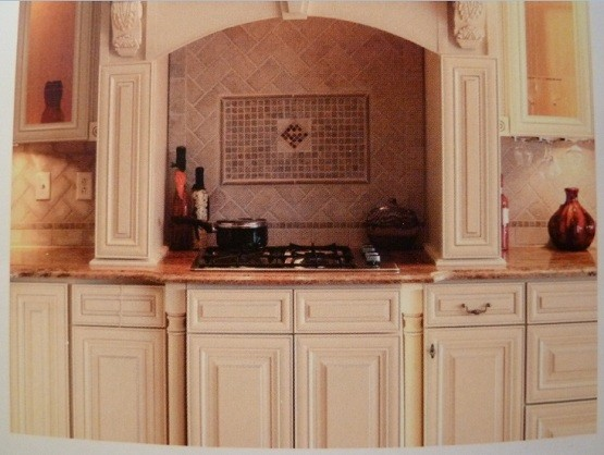 Premade kitchen cabinets of the cooking frame home interiors for Premade cabinets