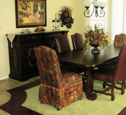 Skirted Dining Room Chairs Inspiration » Skirted Parsonu0027s Chairs
