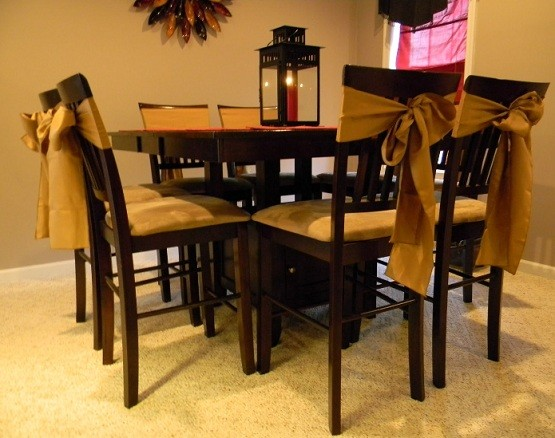 Skirted Dining Room Chairs Inspiration | Home Interiors