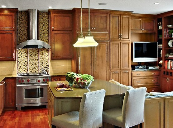 Great small kitchens classic design