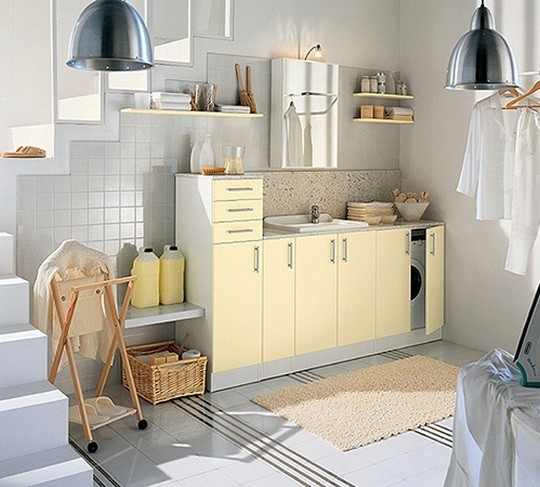Cool Laundry Room Cabinet Ideas » Cool Laundry Room Cabinets Design