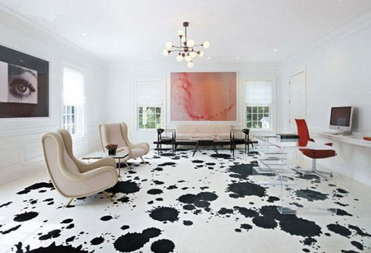 Painting Tile Floors Design Home Interiors