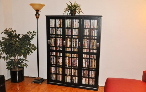 Lovely DVD Storage Cabinet With Doors Preview » DVD Storage Cabinet With Doors U2013 3  Sliding Glass Door