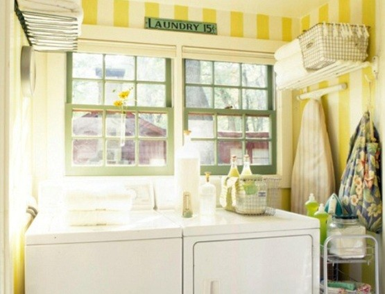 Small Space Laundry Room Paint Color Ideas Home Interiors