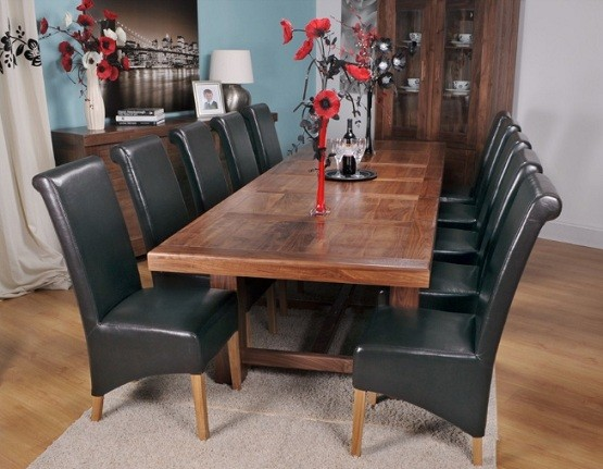 Oversized Dining Room Table Benefits Home Interiors